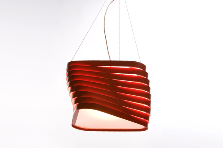Boomerang lamp collection