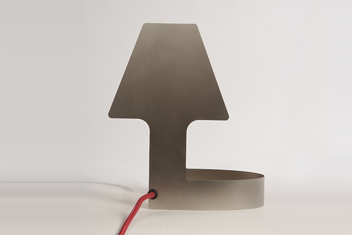 BIY table lamp